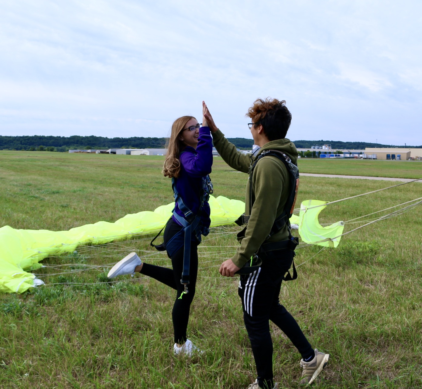 Skydiving On Vacation